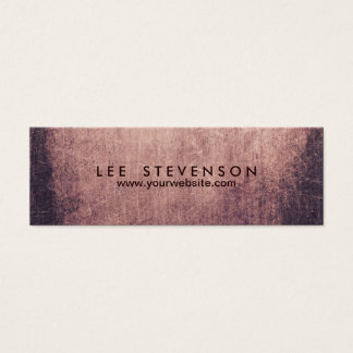 Cool Abstract Grunge Artist Business Card