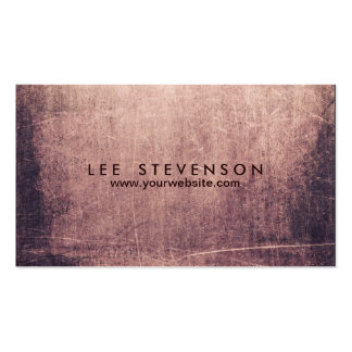 Cool Abstract Grunge Artist Edgey Business Card Template