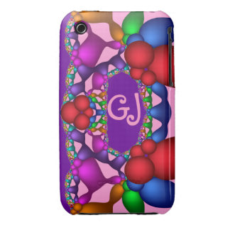 Cool abstract iPhone 3G/3GS Case-Mate wth monogram Case-Mate iPhone 3 Case