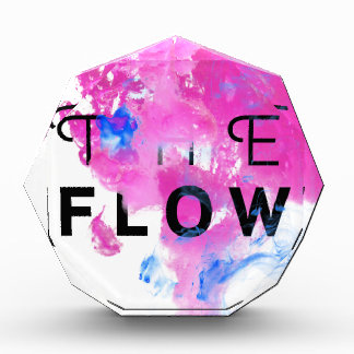 Cool Abstract Motivational Quote THE FLOW Award