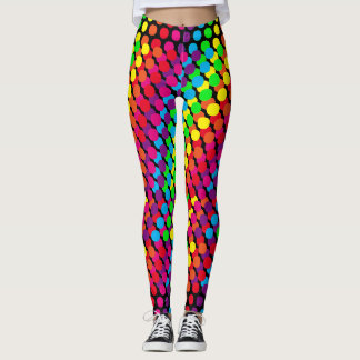 Cool Abstract Neon Designs Leggings