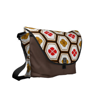 Cool  abstract  oriental japanese  messenger bag