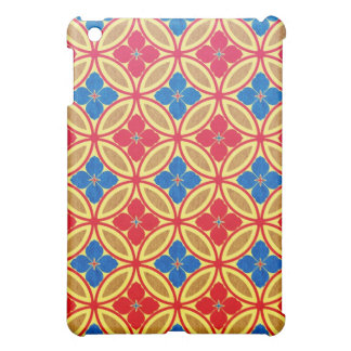 Cool  abstract oriental japanese pattern iPad case