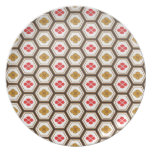 Cool  abstract  oriental japanese pattern  plate