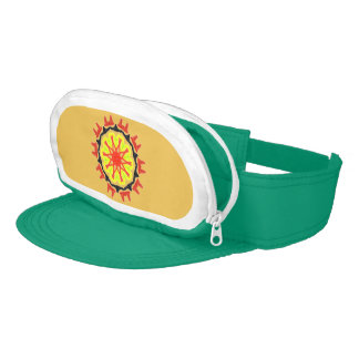 Cool abstract patter visor