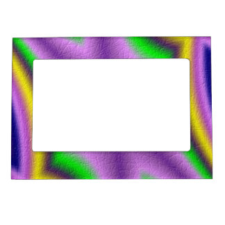 Cool abstract pattern frame magnet