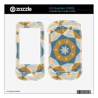 Cool abstract pattern skins for the LG quantum