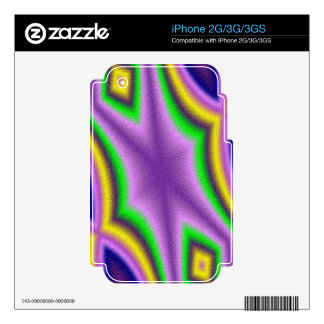 Cool abstract pattern decal for the iPhone 3G