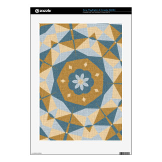 Cool abstract pattern skin for the PS3 console