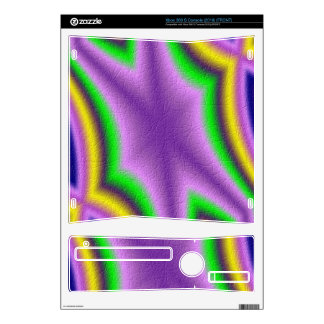 Cool abstract pattern xbox 360 s decal