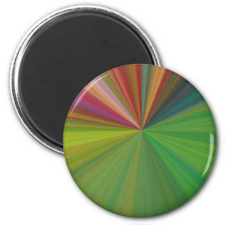 Cool Abstract Rays Magnet