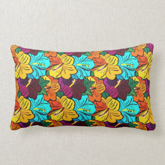 Cool  abstract  spring colourful flowers pillow