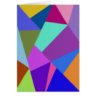 Cool Abstract Stationery Note Card