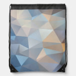Cool Abstract Triangle Pattern Cinch Bags