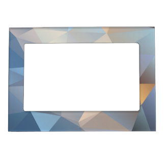 Cool Abstract Triangle Pattern Photo Frame Magnets