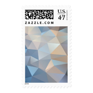Cool Abstract Triangle Pattern Postage