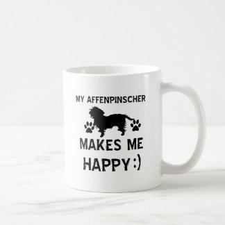 Cool Affenpinscher dog breed designs Classic White Coffee Mug