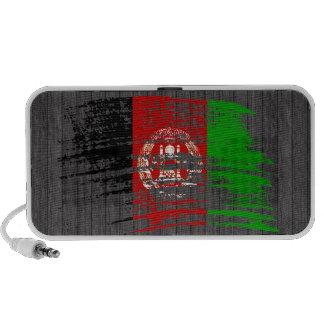 Cool Afghan flag design Travel Speakers