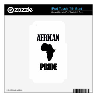 cool african designs decal for iPod touch 4G