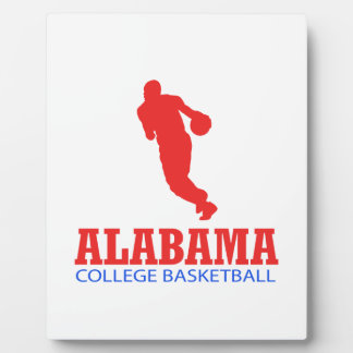 cool Alabama basketball DESIGNS Plaque