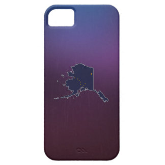 Cool Alaska Flag Map iPhone 5 Cases