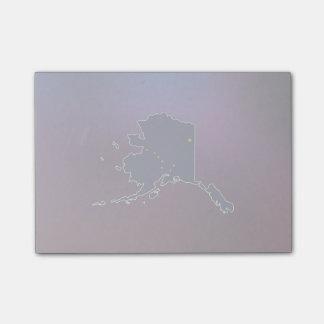 Cool Alaska Flag Map Post-it® Notes