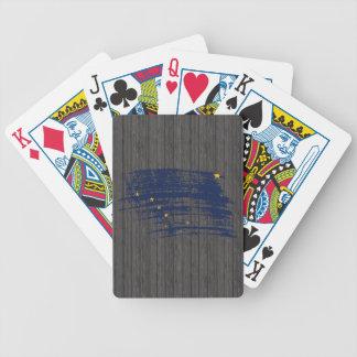 Cool Alaskan flag design Bicycle Playing Cards