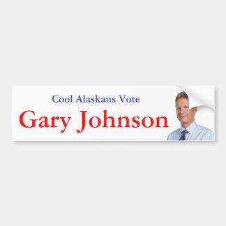Cool Alaskans Vote Bumper Sticker