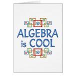 Cool Algebra Greeting Card