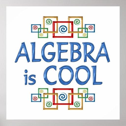 Cool Algebra Print
