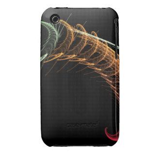 Cool Alien Fractal Case-Mate iPhone 3 Cases