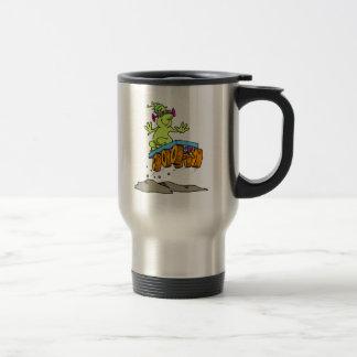 Cool alien on rover mugs