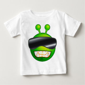 Cool Alien with glasses Baby T-Shirt