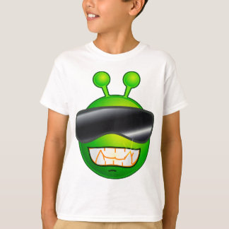 Cool Alien with glasses T-Shirt