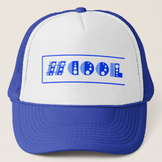 #COOL All Blue Truckers Hat
