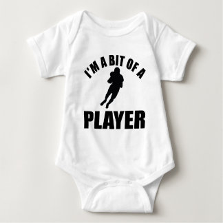 Cool American football design Baby Bodysuit