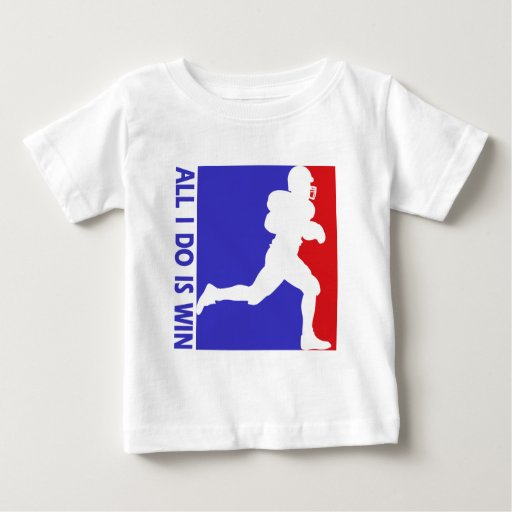 Cool american football designs infant t shirt zazzle for American apparel t shirt design