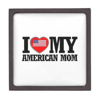 cool american  mom designs jewelry box