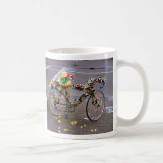 Cool Amsterdam Bicycle with the Yellow Duck Coffee Mug