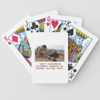 cool Anaconda designs Bicycle Playing Cards