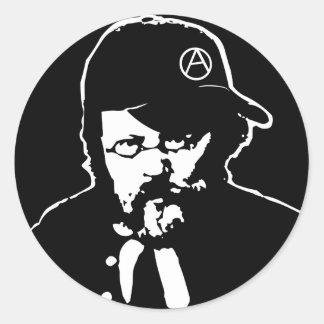 Cool Anarcho Proudhon Sticker