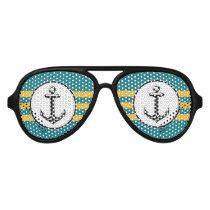 Cool Anchor Aviator Sunglasses