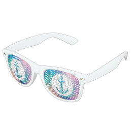 Cool Anchor Retro Sunglasses
