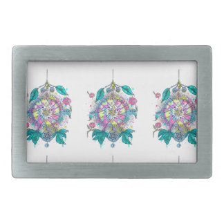Cool and colorful dreamcatcher belt buckles
