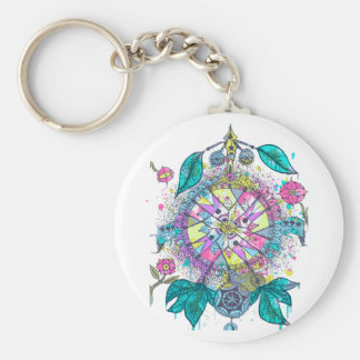 Cool and colorful dreamcatcher key chain