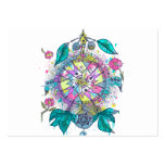 Cool and colorful dreamcatcher large business cards (Pack of 100)