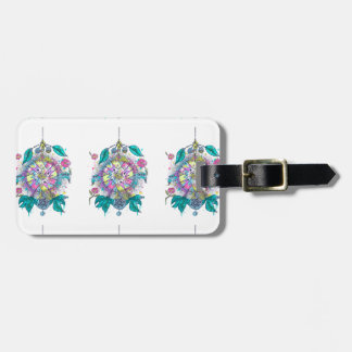 Cool and colorful dreamcatcher luggage tag