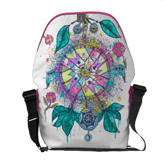Cool and colorful dreamcatcher messenger bag