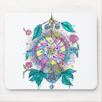 Cool and colorful dreamcatcher mouse pads