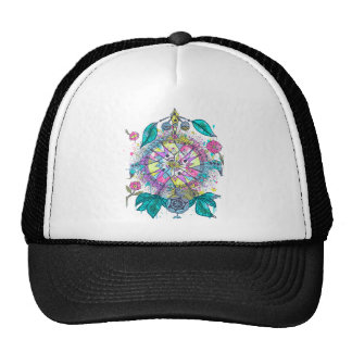 Cool and colorful dreamcatcher trucker hat